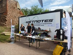 Wetnotes Infostand